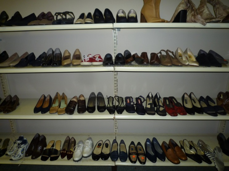 Shoes at Thrift Store